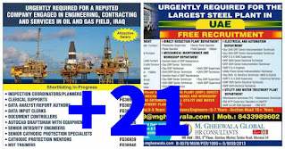 Gulf Vacancies Assignment Daily PDF