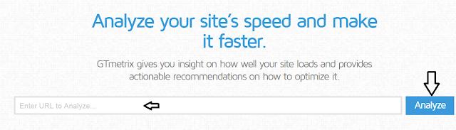 معرفة سرعة الموقع وطريقة رفعها