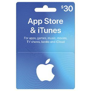 itunes gift cards 30$ hệ mỹ <br><br> 720.000 VNĐ
