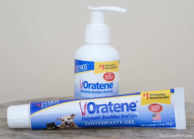 Zymox Oratene Enzymatic Brushless Oral Care Toothpaste Gel and Water Additive