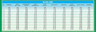 Rute Perjalanan dan Jadwal Keberangkatan City Shuttle Paramount Serpong (Blue Line)