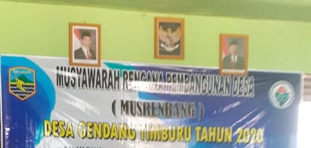 Tapal Batas Dua Desa Gendang Timburu dan Desa Magalau Hulu Kecamatan Sungai Durian Belum ada Kejelasan