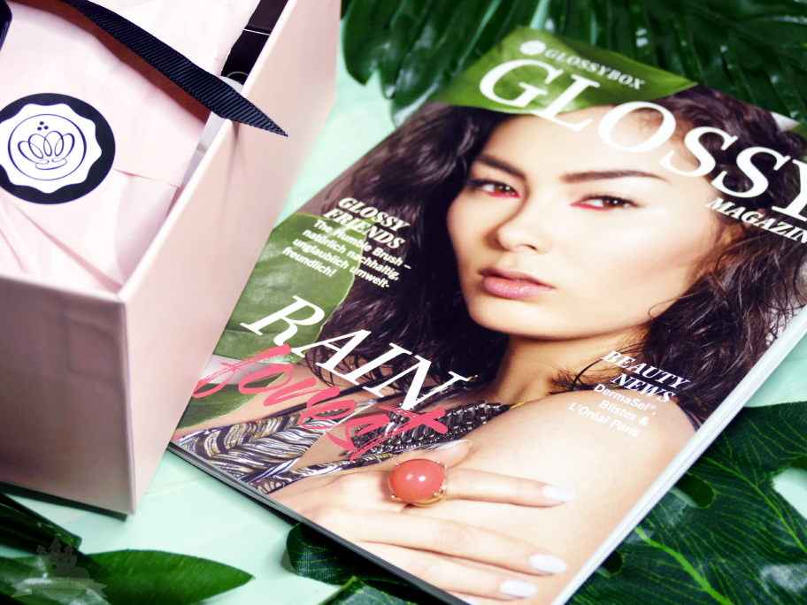 Glossybox Rain forest Edition April 2018 Österreich