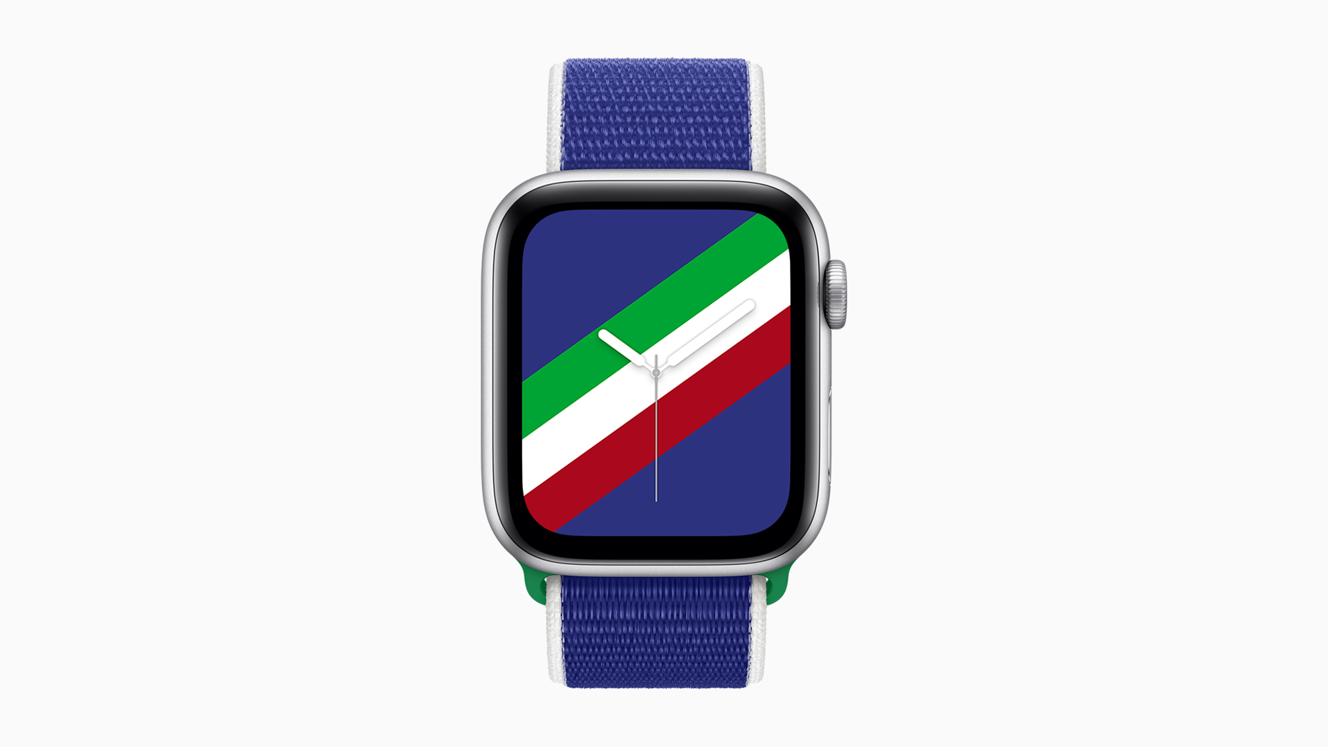 New sport loop bands and matching downloadable watch faces