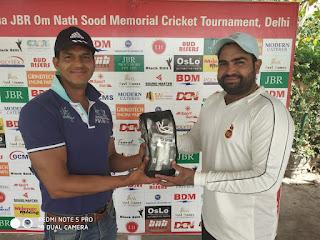 ओम नाथ सूद स्मृति क्रिकेट टूर्नामेंट : बड़ी जीत के साथ स्पोर्टिंग क्लब सूद क्रिकेट के क्वॉर्टर फाइनल में