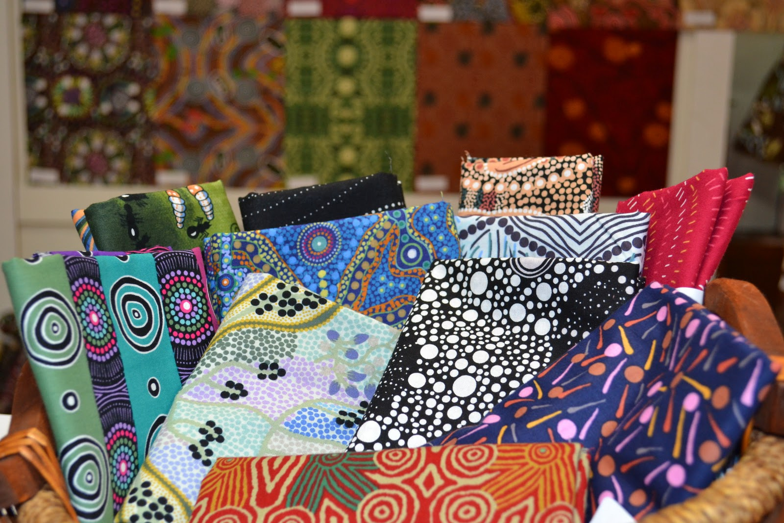 sponsored australian aboriginal fabric