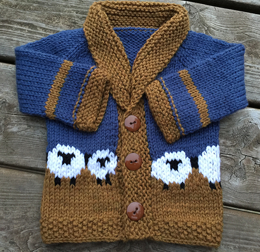 Baby Sophisticate Cardigan Free Pattern