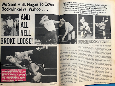 Inside Wrestling  - November 1998 -  Hulk Hogan covers Nick Bockwinkel vs. Wahoo McDaniel