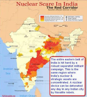 All Indian Nuclear assets are concentrated in the states fighting for the separation, any device falling in the hands of the militants will wreak havoc for the whole region