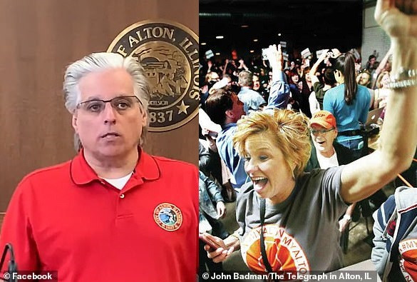 Coronavirus lockdown: US mayor discovered that his wife is in the party that he sent police to breakup