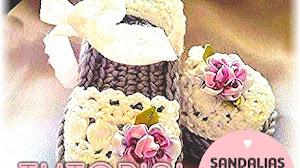 Sandalias o Alpargatas para Nenas a Crochet / Tutorial