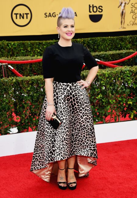 Kelly Osbourne in Elisabetta Franchi at the SAG Awards 2015