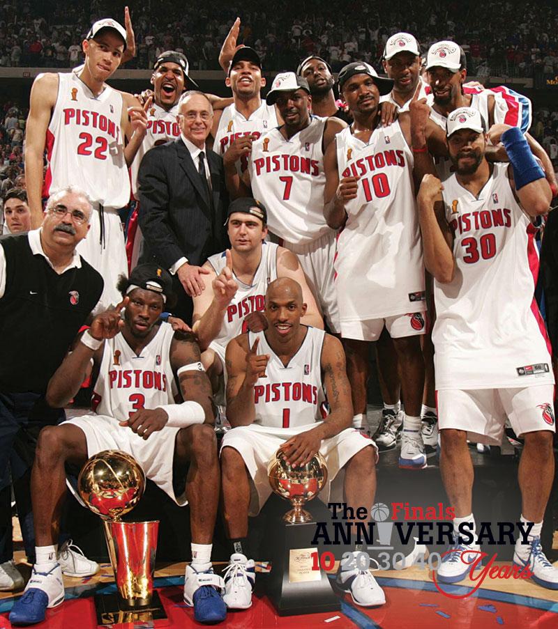 DAR Sports Retrospective: 2004 NBA Finals- Pistons Vs