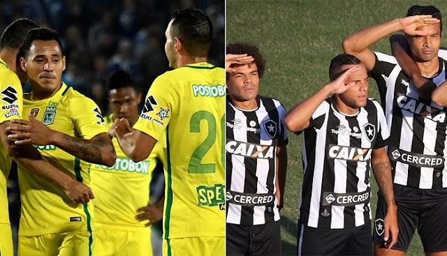 Atletico Nacional vs Botafogo en vivo