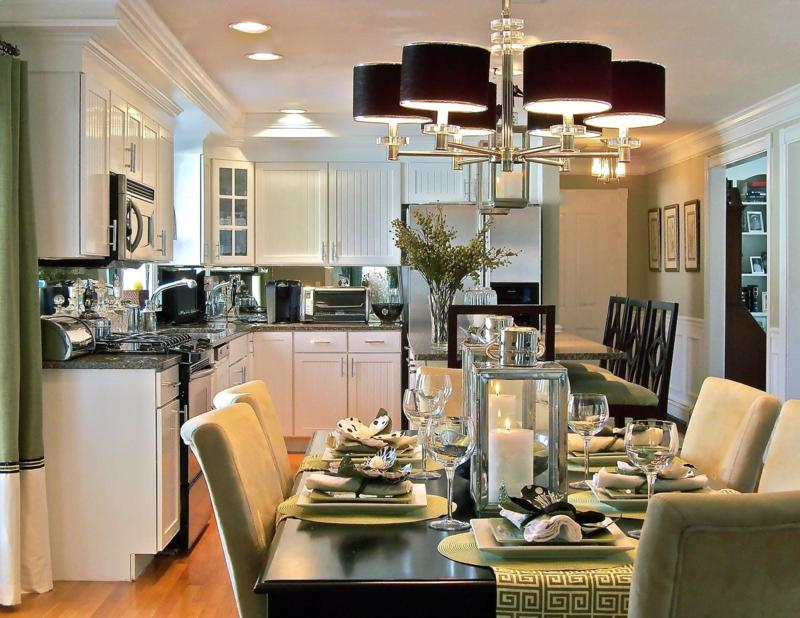 Small Kitchen And Dining Room Combo Designs Home Interior Exterior Decor Design Ideas