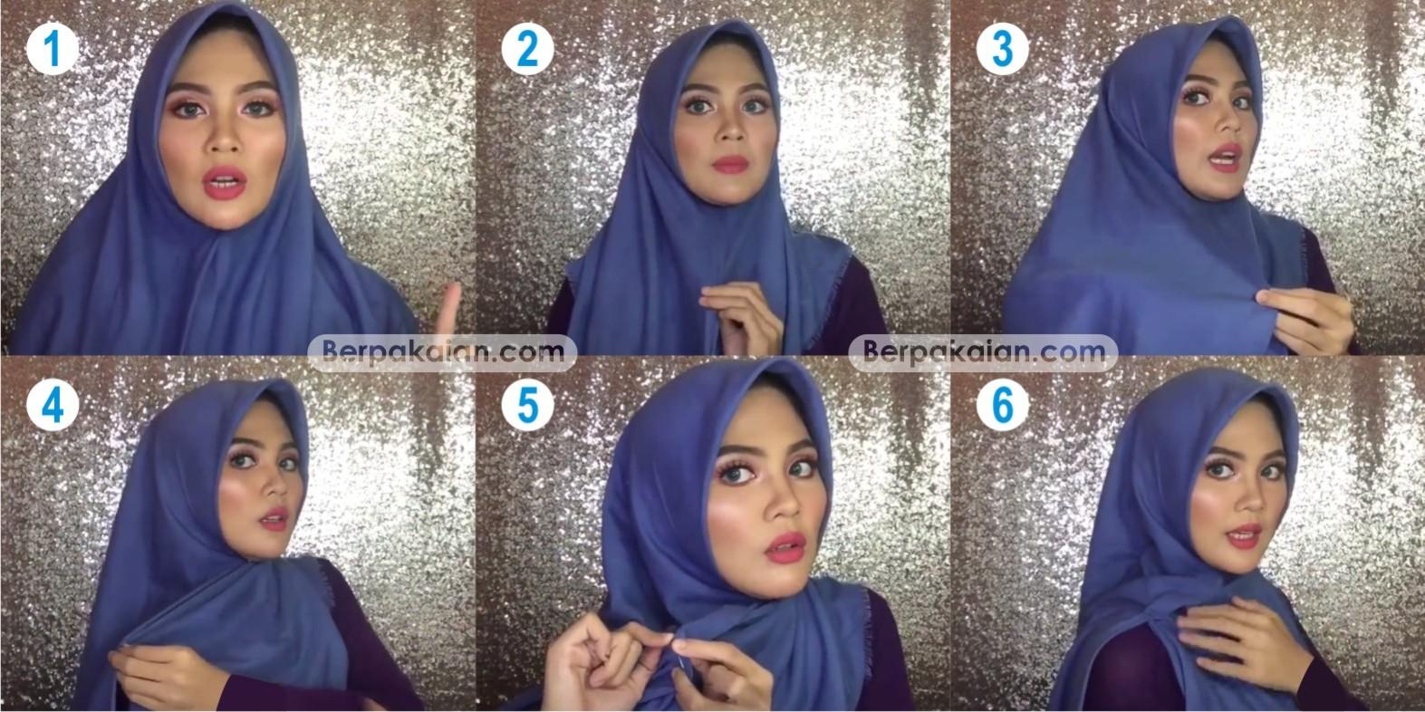 Tutorial Hijab Ala Ria Ricis Simple Jilbab Gucci
