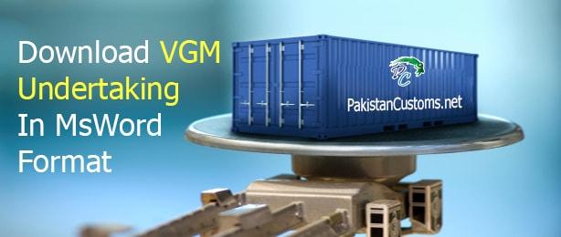 Download-VGM-Undertaking