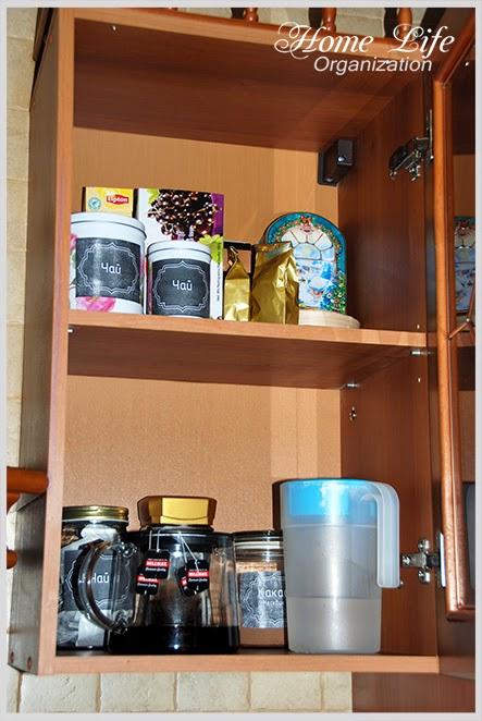 Организация кухни. Как хранить чай