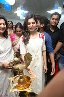 Samantha Ruth Prabhu Smiling Beauty in White Dress Launches VCare Clinic 15 June 2017 074.JPG
