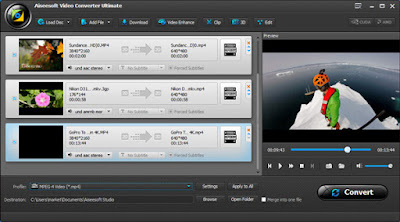 Aiseesoft Video Converter Ultimate is professional and powerful video software to enhance video, convert videos/DVDs and download videos from any online website.