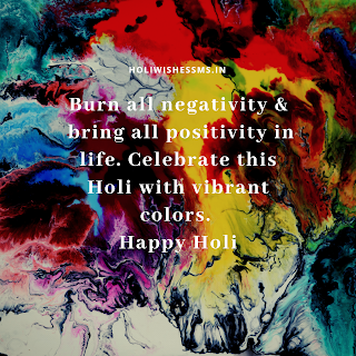 happy holi status advance