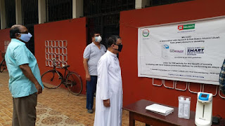 Installation of Hand Hygiene station at DBL - DBLPP