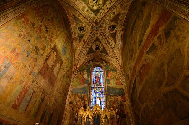 chapelle Strozzi de Mantoue Santa Maria Novella