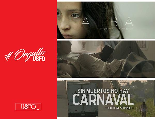 Alumnos de la USFQ en lo alto del cine Iberoamericano