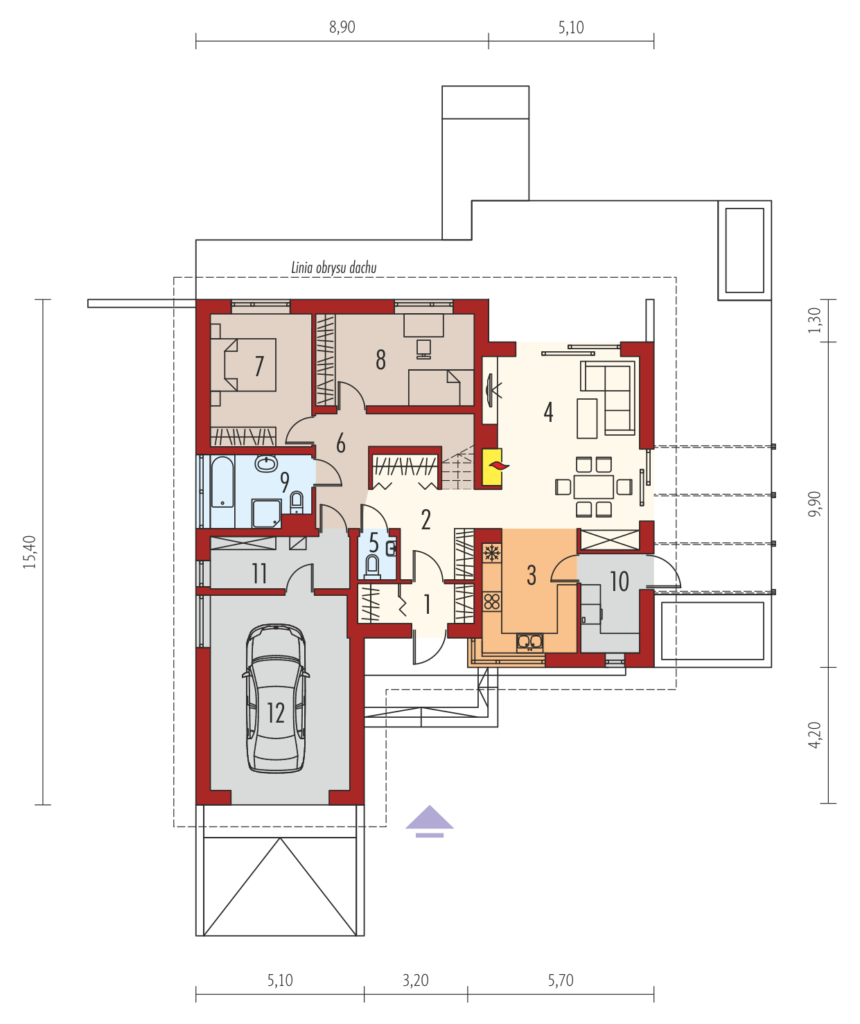 "Are you looking for the best modern house plans in which to live a modern life?  Choosing a home can be an intimidating task, especially if you want it to be yours forever. The modern house is designed to be energy and surroundings friendly. Get inspiration and ideas from this free house floor plan for you.  ""Advertisements""     HOUSE FLOOR PLAN 1               Specifications: Usable area99.44 m² Additionally: boiler room 7.12 m² ; garage 33.97 m² ; attic to adapt 30.71 m² Building area188.27 square meters Pow. Net 153.44 m² Cubic capacity408.33 m³ Building dimensions 14.2 x 15.4 m Building height 7.09 m The angle of slope of the roof 30 of the Roof area 262 m2 Minimal plot 22.20 x 23.40 m  Ground floor 1. Vestibule 3.96 m² 2. The lobby staircase +14.38 m² 3. Kitchen 8.52 m² 4. Living room 28.17 m² 5. Toilet 1.70 m² 6. Corridor 5.56 m² 7. Bedroom 13.23 m² 8. Bedroom 13.43 m² 9. Bathroom 6.92 m² 10. Pom. Economic 3.57 m² 11. Boiler room 7.12 m² 12. Garage 33.97 m  SOURCE: www.archipelag.pl ""Advertisements"" HOUSE FLOOR PLAN 2                   Specifications: Building area 179.72 square meters Net area 145.75 square meters Cubic capacity 388.68 square meters Building height 7.09 m Roof area 252 m  Specifications for the ground floor: Kitchen 10.62 square meters Living room + dining room 25.18 square meters Toilet 1.51 square meters Corridor 5.56 square meters Bedroom 12.41 square meters Bathroom 6.47 square meters   SOURCE: https://www.archipelag.pl  ""Sponsored Links""  HOUSE PLAN 3                           Basic information: Pow. Art (m 2 ): 130.84 Pow. Net (m 2 ): 192.89 Pow. There (m 2 )29.22 Cubic capacity (m 3 ): 520.38 Roof angle ( 0 ): 30,00 Building height (m): 7.68 Min. Width of plot (m): 21.50 Min. Length of the plot (m):28.60  Ground Composition: 1 5.54 m vestibule 2. Towing 10.47 m 3. Kitchen 9.9 m 4. Galley 1.62 m 5 m Dining 10.46 6 31.34 m Living 7. Windows 2.11 m 8. Corridor m + 11.14 staircase 9. Bedroom 12.84 m 10. Dressing 5.45 m 11 Bedroom 10.92 m 12. Bedroom 10.92 m 13. Windows 8.13 m 14 pom. Technical 10.31 m 15. Garage 29.22 m  SOURCE: https://pracownia-projekty.dom.pl  RELATED POSTS  These One Story Small House Plan Are Simple Yet Elegant In Design Are you looking for small house plans good enough for your small family? Here's the 3 small beautiful and comfortable house floor plan build on 61 sqm. above. Are you looking for small house plans good enough for your small family? Here's the 3 small beautiful and comfortable house floor plan build on 61 sqm. above.                                                                                                                                                                     ""Advertisements""     HOUSE PLAN 1          FRONT VIEW  LEFT SIDE VIEW     RIGHT SIDE VIEW   REAR VIEW   TOP VIEW    SPECIFICATION: 61 square meters total floor area 134 square meters lot area 2 Toilet 2 Bath 2 Bedroom  SOURCE: pinoyhousedesign.com  ""Advertisements"" HOUSE PLAN 2                 The house plan consists of 3 bedrooms, 2 bathrooms, a living space of 106 square meters  SOURCE: Homeplan 360    ""Sponsored Links""  HOUSE PLAN 3                                          SOURCE: http://myhomemyzone.com  RELATED POSTS:  The Best Modern House Floor Plans And Designs In Which To Live A Modern Life Are you looking for the best modern house plans in which to live a modern life? Whether this will be your first home, a second home or you are searching to upgrade, we have the perfect modern house floor plans for free. Are you looking for the best modern house plans in which to live a modern life? Whether this will be your first home, a second home or you are searching to upgrade, we have the perfect modern house floor plans for you for free.  Your search is over because this floor plan group has the right big, medium, or small modern house floor plans for you. HOME DESIGN 1                                            Single storey high rise home:  3 bedrooms  2 bathrooms  1 kitchen 1 living room HOME DESIGN 2           Single-detached house concept  2 bedrooms 1 bathroom  1 living room  1 kitchen  HOME DESIGN 3           Single-storey house concept  2 bedrooms  1 bathroom  1 kitchen HOME DESIGN 4           Single storey house concept 3 bedrooms  2 bathrooms  1 living room  1 kitchen   HOME DESIGN 5                           Single storey house:  3 bedrooms 3 bathrooms  1 kitchen  1 living room 1 royal house   SOURCE: Udon Thani House Builder  Small House Floor Plan Designed For Every Filipino Family Small house holders, just like all house holders, should have the capability to chill out inside their house without feeling detention inside. The best way to attain this plan is to make use of practical interior design ideas for small homes. You may have a look at the following photos for further inspiration and ideas. Small house holders, just like all house holders, should have the capability to chill out inside their house without feeling detention inside. The best way to attain this plan is to make use of practical interior design ideas for small homes. You may have a look at the following photos for further inspiration and ideas.  ""Advertisements""    HOUSE FLOOR PLAN 1               SPECIFICATION Pow. Usable (m 2 ): (?)77.80 Pow. building area (m 2 ): (?)100,80 The cubic capacity (m 3 ): (?)311.40 Roof angle ( 0 ): (?)30,00 Building height (m): (?)5.90 Min. Width (m): (?)19,50 Min. Length of the plot (m):  SOURCE: amazingarchitecture.net  ""Advertisements""  HOUSE FLOOR PLAN 2                                                       SOURCE: http://amazingarchitecture.net    ""Sponsored Links""  HOUSE FLOOR PLAN 3                    SOURCE: angelescityhouseforsale.com  Want To Build An Affordable House? Here's Some Ready To Build House Floor Plan For You Are you trying to build an affordable home? It is probable to work on a real financial plan, be green and still have a nice design.  The Best Modern House Floor Plans And Designs In Which To Live A Modern Life Are you looking for the best modern house plans in which to live a modern life? Whether this will be your first home, a second home or you are searching to upgrade, we have the perfect modern house floor plans for free. Are you looking for the best modern house plans in which to live a modern life? Whether this will be your first home, a second home or you are searching to upgrade, we have the perfect modern house floor plans for you for free.  Your search is over because this floor plan group has the right big, medium, or small modern house floor plans for you. HOME DESIGN 1                                            Single storey high rise home:  3 bedrooms  2 bathrooms  1 kitchen 1 living room HOME DESIGN 2           Single-detached house concept  2 bedrooms 1 bathroom  1 living room  1 kitchen  HOME DESIGN 3           Single-storey house concept  2 bedrooms  1 bathroom  1 kitchen HOME DESIGN 4           Single storey house concept 3 bedrooms  2 bathrooms  1 living room  1 kitchen   HOME DESIGN 5                           Single storey house:  3 bedrooms 3 bathrooms  1 kitchen  1 living room 1 royal house   SOURCE: Udon Thani House Builder  Small House Floor Plan Designed For Every Filipino Family Small house holders, just like all house holders, should have the capability to chill out inside their house without feeling detention inside. The best way to attain this plan is to make use of practical interior design ideas for small homes. You may have a look at the following photos for further inspiration and ideas."