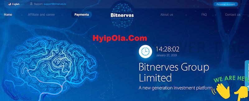 [SCAM] Review Hyip BitNerves.io - Site chiến nhanh cực hot lãi 10% hằng ngày - Thanh toán manual