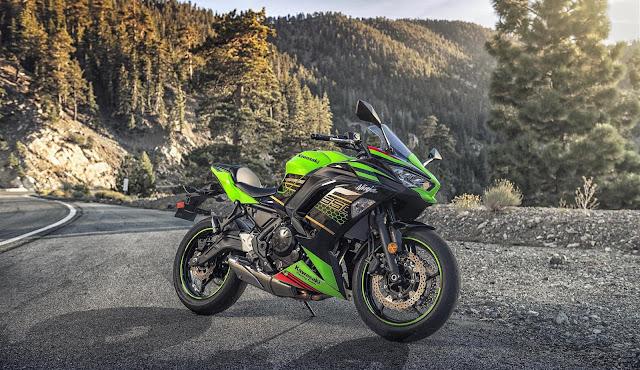 Kawasaki Ninja 650 2020 Hijau