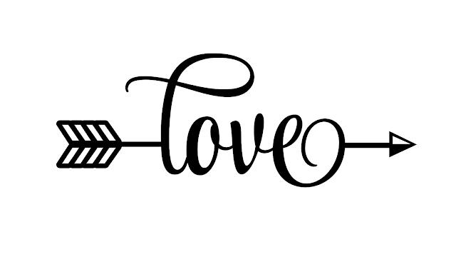 Download Free Love Arrow SVG Cut File (SVG-00005) - Free SVG