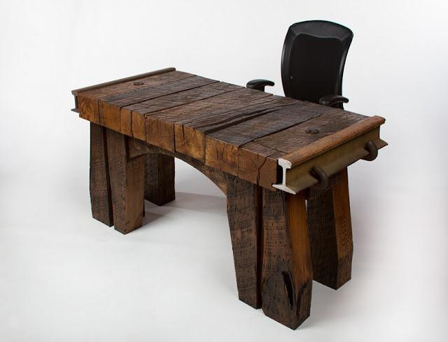 best buy solid wood rustic office desks for sale