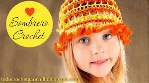 Patrones de sombrero primaveral