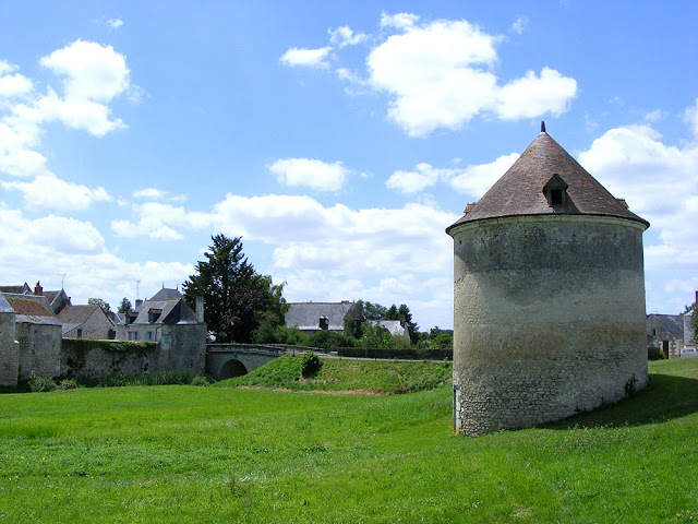 Dovecote, Priory of Le Louroux. Indre et Loire. France. Photo by Susan Walter.