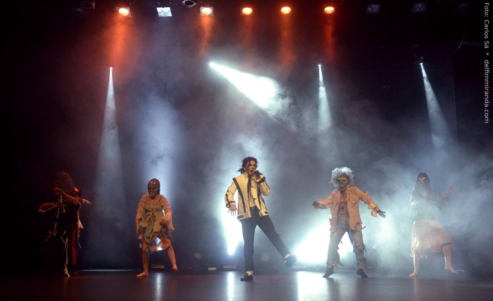 Delfim Miranda - Michael Jackson Tribute - Thriller with Zoombies - Live on stage