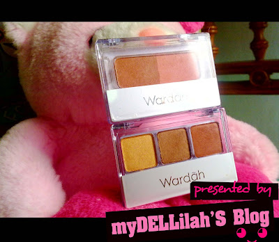 Wardah Eyeshadow and Blush On