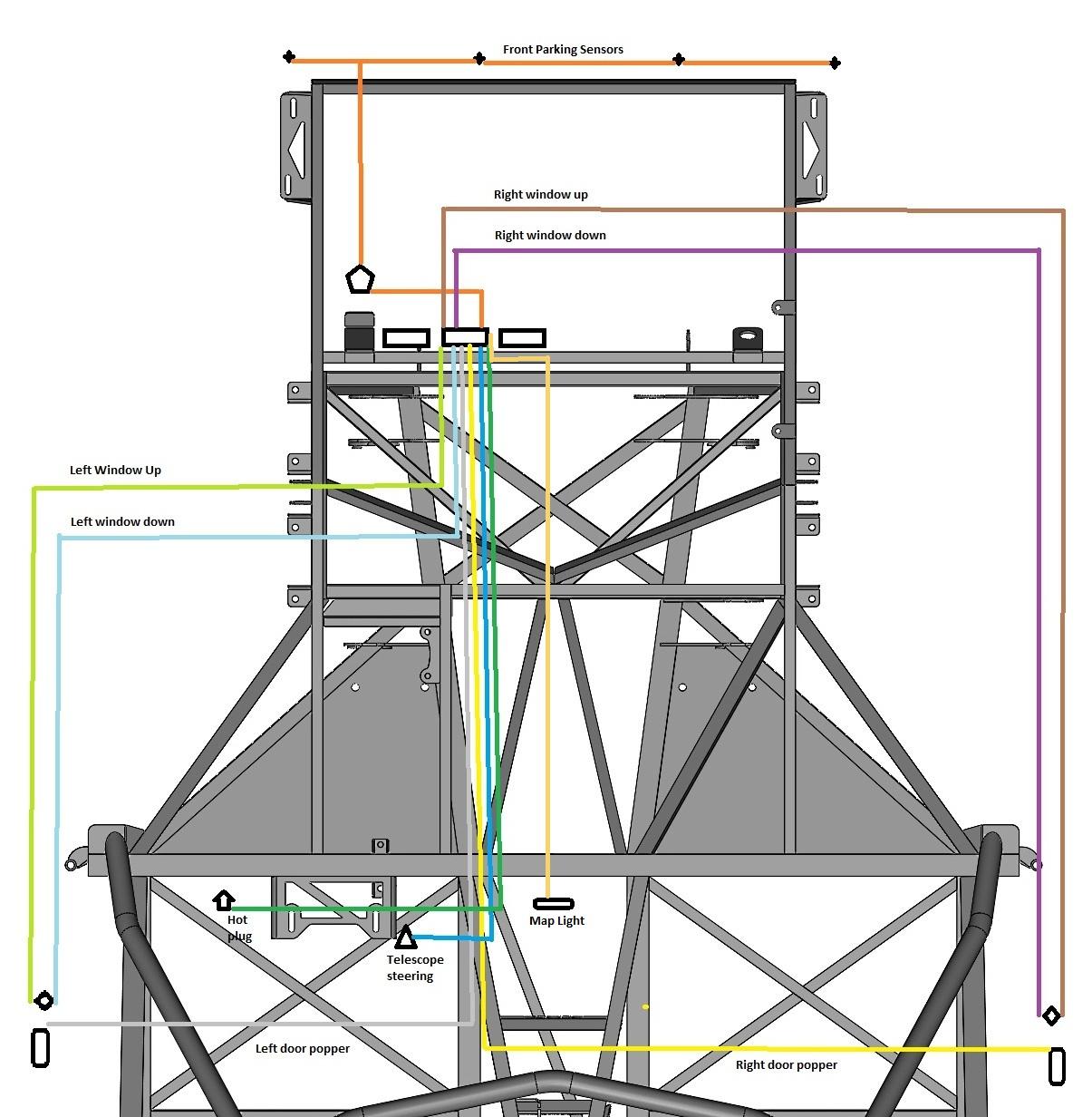 medium resolution of power cell 3 wiring fb super car build power door popper wiring diagram