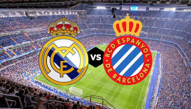 مشاهدة مباراة  اسبانيول وريال مدريد اليوم 2020/6/28 في الدوري الاسباني