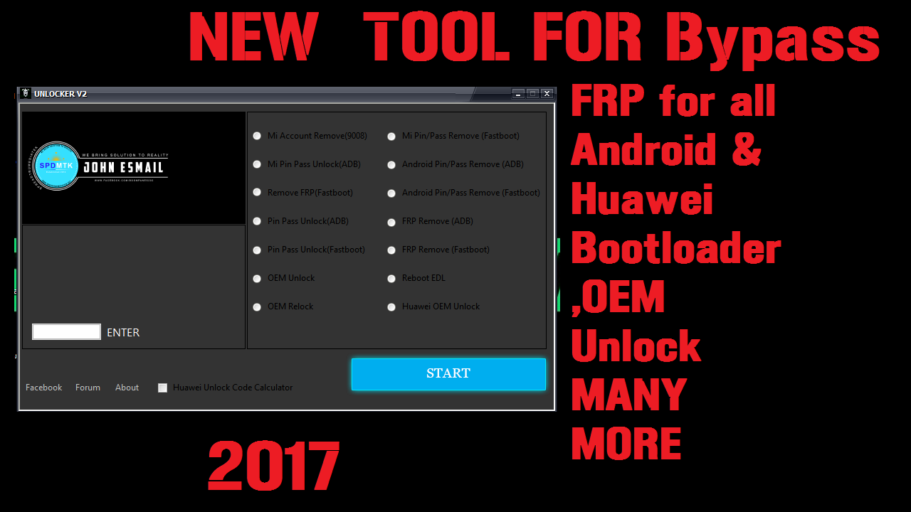 A New Tool For Unlock Bootloader /FRP Remove/Google Account