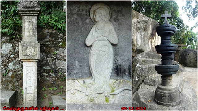Mother Mary in Edakal Cave
