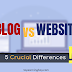 5 Crucial Differences Between a Blog and Website (Explained)
