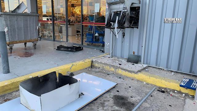 Αργολίδα: Ανατίναξαν ΑΤΜ στο Άργος