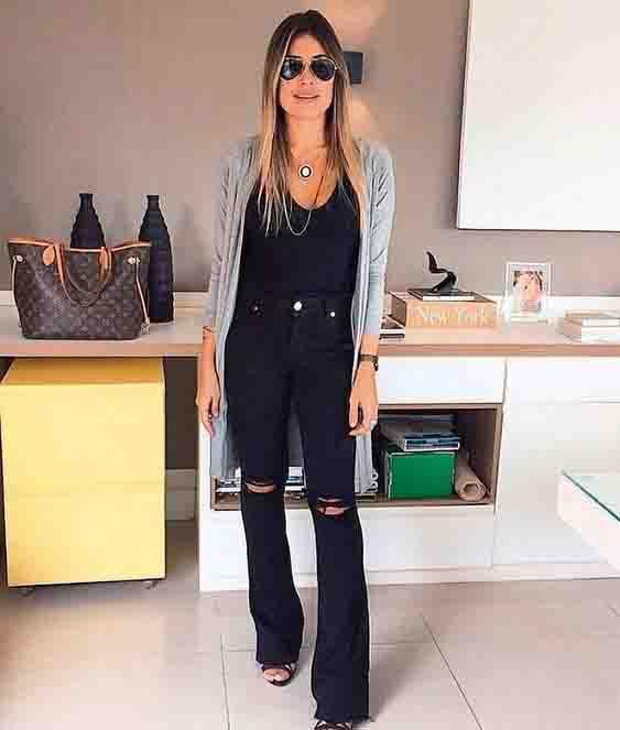 8 maneiras de usar a calça preta