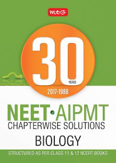 MTG 30 Years NEET-AIPMT BIOLOGY Chapterwise Solution