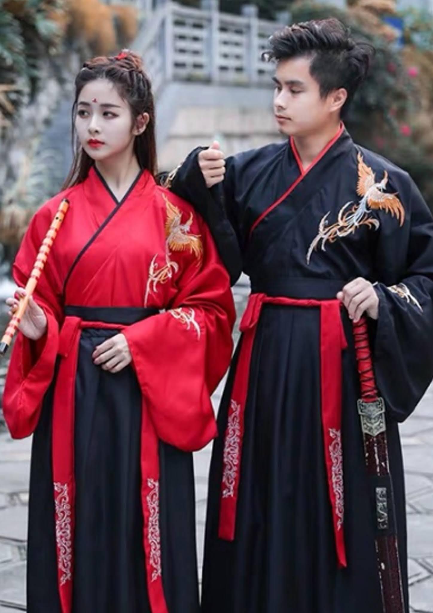 Cho thuê cổ trang Hán phục kiếm hiệp Nam nữ