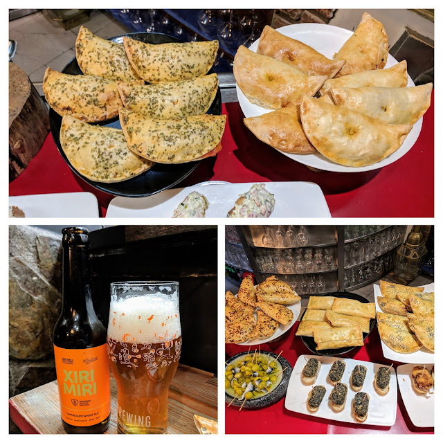 Places to eat in Bilbao: Craft beer and empanadas at La Ley Seca