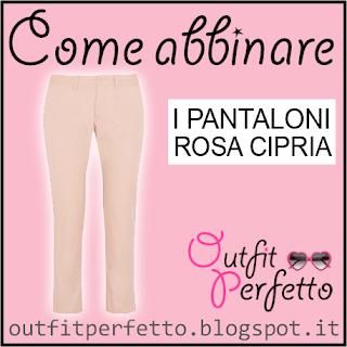 Come abbinare i pantaloni rosa cipria in autunno inverno