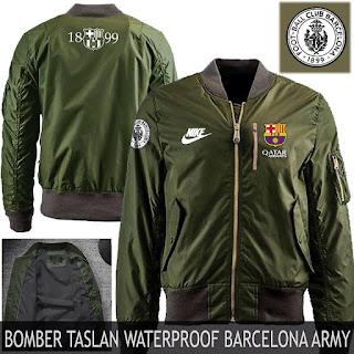 Jual Jaket Bomber Barcelona Murah