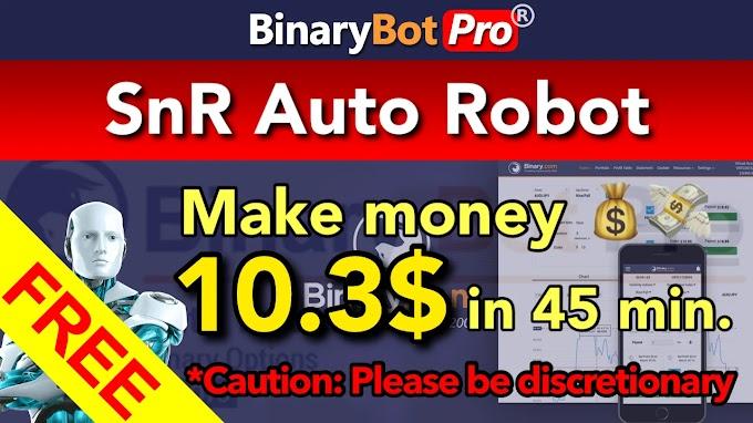 SnR Auto Robot | Binary Bot Pro